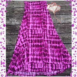 LuLaRoe Tie Dye Maxi ~ NWOT'S 🦄